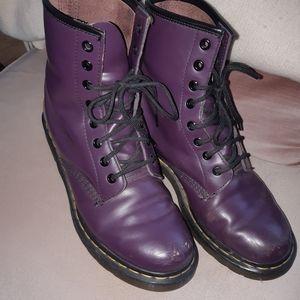 Purple Dr. Martens 41/ 10
